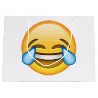 Emoji - Risse der Freude Große Geschenktüte