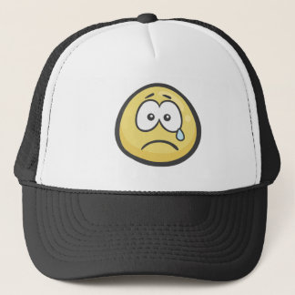 Emoji: Schreiendes Gesicht Truckerkappe