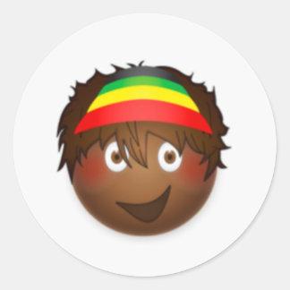 Emoji stellen Aufkleber personalisierten Aufkleber