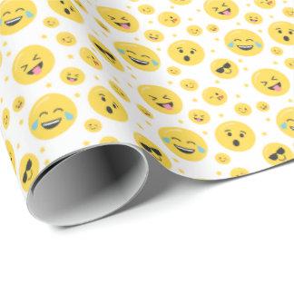 Emoji stellt jedes mögliches geschenkpapier