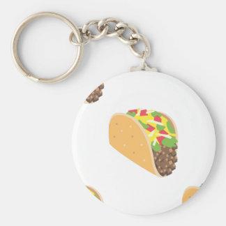 emoji Taco Schlüsselanhänger