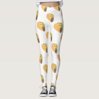 emoji Tacogamaschen Leggings