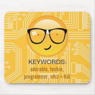Emoji total Techie ID229 Mauspads