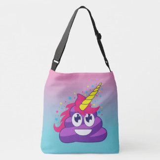 Emoji Unicorn kacken Oombre Tasche