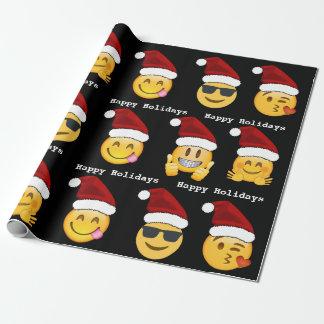 Emoji Weihnachten Geschenkpapier