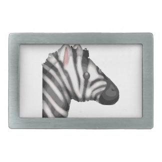 emoji Zebra Rechteckige Gürtelschnalle