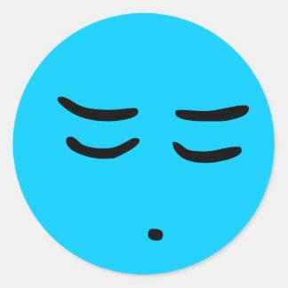 Emoticon-kundengerechter Hintergrund-Aufkleber