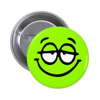 Emoticon-kundengerechter Hintergrund-Knopf Buttons