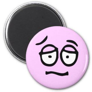 Emoticon-kundengerechter Hintergrund-Magnet Kühlschrankmagnete