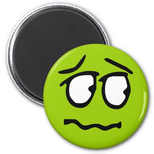 Emoticon-kundengerechter Hintergrund-Magnet Magnets