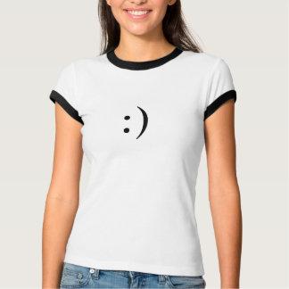 Emoticon-Lächeln {:)} T-Shirt
