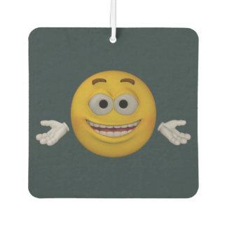 Emoticon _sorgen sich nicht, sind glücklich. autolufterfrischer