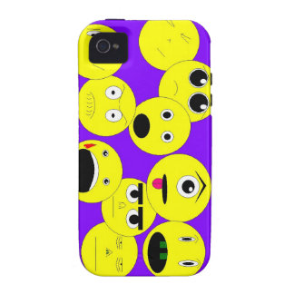 Emoticons iPhone 4 Cover