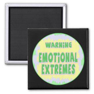 Emotionale Extrem-lustige T - Shirt-Geschenke Quadratischer Magnet