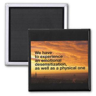 Emotionaler Desensitization Quadratischer Magnet