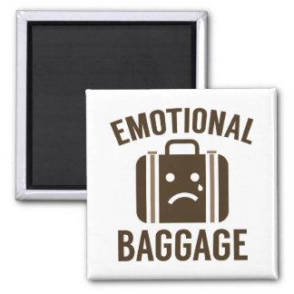 Emotionales Gepäck Quadratischer Magnet