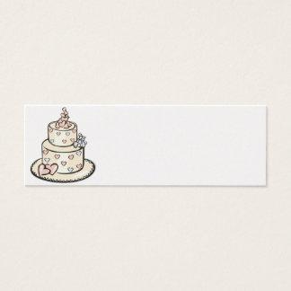 Empfangs-Platz-Einstellungs-Karten - Perle Mini Visitenkarte