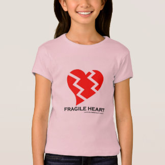 Empfindliche Herz-Jugend-kleiner T - Shirt