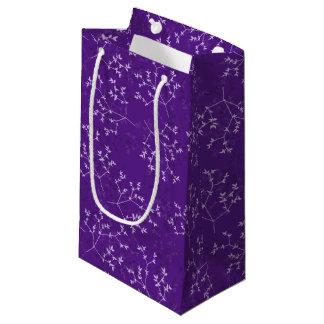 Empfindliche lila Niederlassungs-Geschenk-Tasche Kleine Geschenktüte