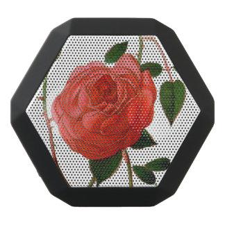 Empfindliche Rote Rose Schwarze Bluetooth Lautsprecher
