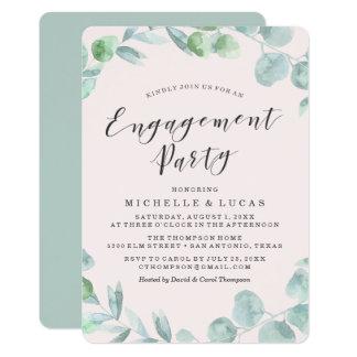Empfindliche Verlobungs-Party Einladung des