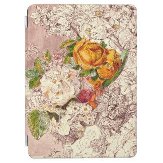 Empfindliche Vintage Rosen-Kunst iPad Air Hülle