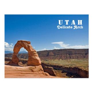 Empfindlicher Bogen Utahs Postkarte