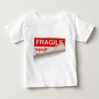 Empfindlicher Inhalt Baby T-shirt