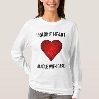 Empfindliches Herz, behandeln sorgfältig T - Shirt