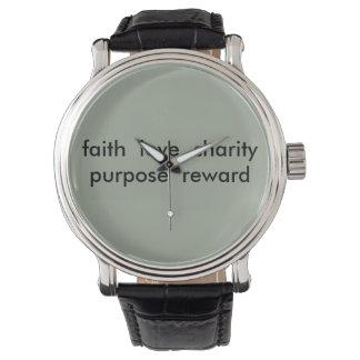 Emporhebende Wort-Uhr Uhr