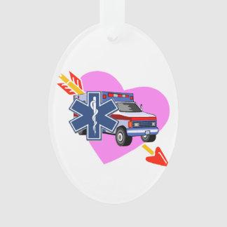 Ems-Herz von Sorgfalt Ornament