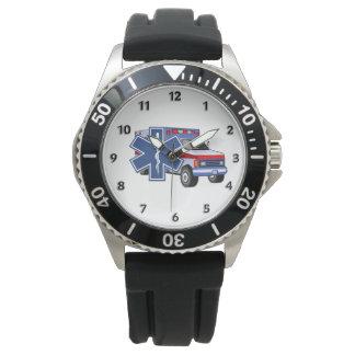 Ems-Krankenwagen Armbanduhr