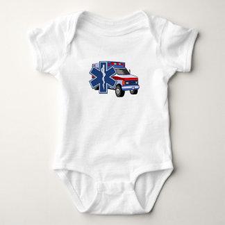 Ems-Krankenwagen Baby Strampler