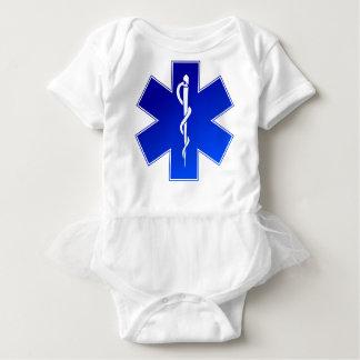 Ems-Notärztliche Bemühung Baby Strampler