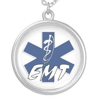 EMT Active Versilberte Kette