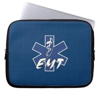 EMT aktiver Stern des Lebens Laptop Sleeve
