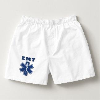 EMT Blau Herren-Boxershorts