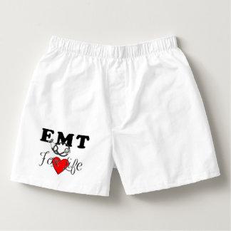EMT für das Leben Herren-Boxershorts