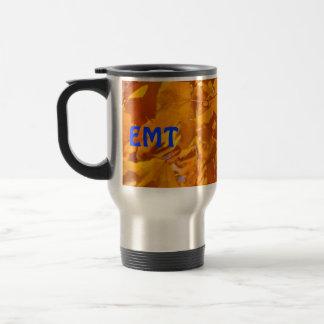 EMT Kaffeereise-Tassen goldenes Herbst-Blätter