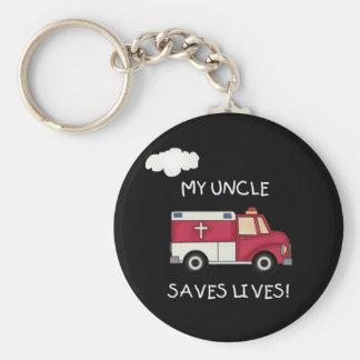 EMT mein Onkel Saves Lives Schlüsselanhänger