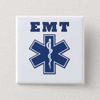 EMT Stern des Lebens Quadratischer Button 5,1 Cm