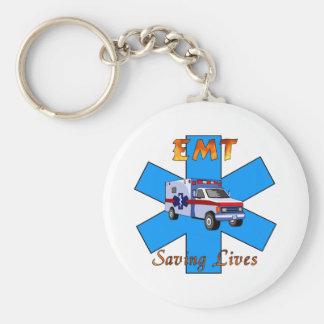 EMT, welches die Leben rettet Schlüsselanhänger