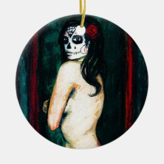 En-EL Dia de Los Muertos Keramik Ornament