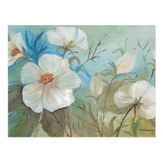 Encanto mit Blumen (vendido) Postkarte