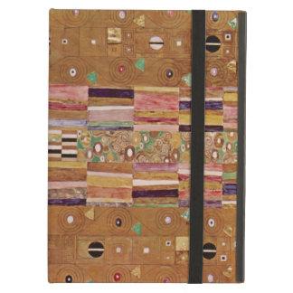 Ende der Wand, Stoclet Fries, Klimt, Mosaik-Muster