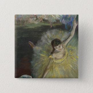 Ende Edgar Degass | einer Arabeske, 1877 Quadratischer Button 5,1 Cm