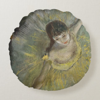 Ende Edgar Degass | einer Arabeske, 1877 Rundes Kissen