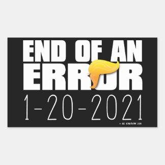 Ende ein Fehler-der Aufkleber (4)
