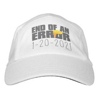 Ende eines Fehler-Hutes Headsweats Kappe