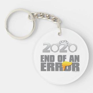 Ende eines Fehlers Cuffs Keychain Schlüsselanhänger